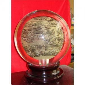 China Crystal Ornament Ball on sale