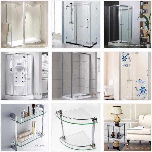 Shower Screen/Door/Enclosure/Room/ Frosted/Acid Etched/Sandblast/Tempered/Toughened Glass