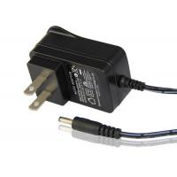China AC LED Power Supply Adapter 100 - 240V AC Input Voltage Black / White Color on sale