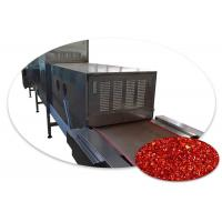 Quality 3 Ton Microwave Chili Drying Machine Hot Air Recycling And Circulatory System for sale