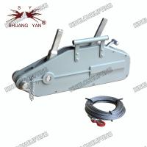 China 20 Meters Wire Rope Winch Wide Beam Flange Adjustment Range Self Locking on sale