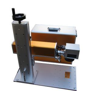 Quality Portable Fiber Laser Marking Machine EZ-CAD Software JCZ Card Brand for sale