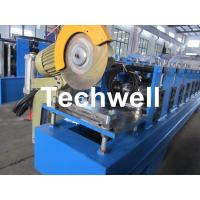 China 13 Forming Stations Roller Shutter Door Cold Roll Forming Machine With Manual Decoiler on sale