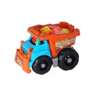 China Recycled Plastic Building Blocks Vehicle Play Set For Toddlers And Babies on sale