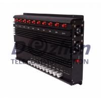 Quality 10 bands Adjustable All GSM CDMA 3G 4G Mobile Phone & WIFI GPS Lojack Signal Jammer for sale