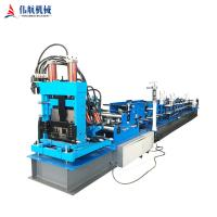 Quality 2019 Popular  Used For Building Material Fully Automatic C&Z purlin roll forming machine for sale