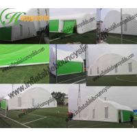 Quality hot sell inflatable air tight 0.6mm pvc tarpaulin wedding party outdoor tent for sale