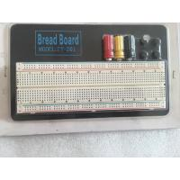 Quality Round Hole Soldered Breadboard Projects With Aluminum Plate 18.5 * 11 * 0.12cm for sale