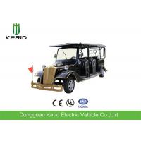 Quality Electric Eight Seater Golf Cart For Villas / Club , Smooth Driving Electric Tour Bus for sale