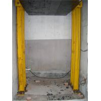Quality Goods Hydraulic cargo lift , 2000 KG guide rail lift for warehouse for sale
