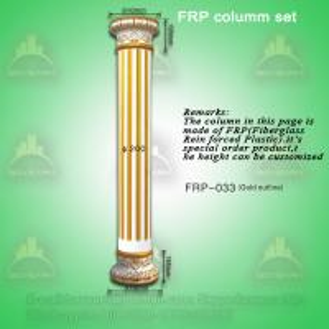 Quality Polyurethane roman pillars/ PU wedding cake pillars for sale