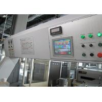 Quality Power Saving Hot Air Stenter Machine HMI PLC Controlled Max Roller Width 3800mm for sale