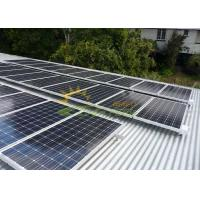 Quality Aluminum Ballasted Solar Racking Systems Frame for sale