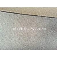 China 60 wide maximum neoprene fabric roll sheet with colored terry towel lamination on sale