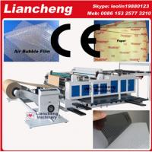 Quality Bubble film, EPE, paper, plastic etc PLC DC guillotine paper cutter for sale