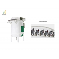 Quality Heavy 69.1m2 Pneumatic Dust Collection System 4146M3/H - 20730M3/H for sale