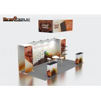 Quality 10x20 Custom Trade Show Booth Tension Fabric Portable Exhibition Equipment for sale