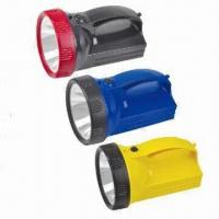 Quality Rechargeable Flashlights with 15 Pieces LED Spotlights, Outside Battery Charger, 2,400mAh Battery for sale