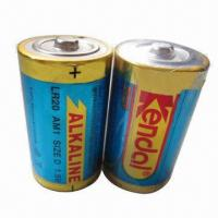 Quality Alkaline Dry Cell Battery with 12,000mAh Nominal Capacity for sale