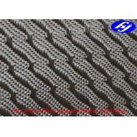 Quality Lightning Pattern 3K 280gsm high duty Jacquard Carbon Fiber Fabric for sale
