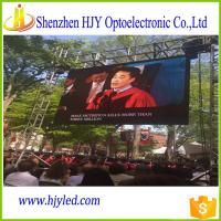 Quality Outdoor P6 electronic led screen display for sale