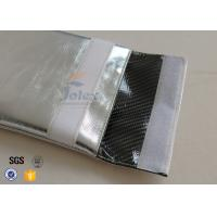 Quality Silver Outside Fireproof Bag Pouch Non Irritating Fiberglass 1000℉ 17x27cm for sale