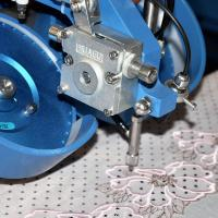 Quality Stable Automatic Rhinestone Stitching Machine Fixing Hotfix Rhinestone On Home Textile for sale