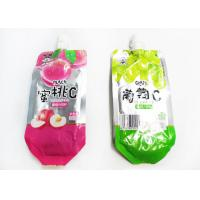 Quality Heat Sealing Stand up Spout Pouch for sale