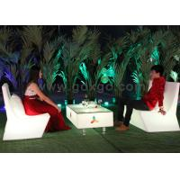 Waterproof IP56 Outdoor 16 Colors LED Light Sofa , Change Colors Via Remote Control