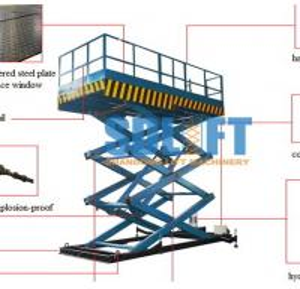 Quality Hydraulic Elevator Warehouse Lift Platform for sale