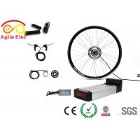 China 100mm / 135mm Axle Electric Bike Wheel Motor Kit With Magnetic Pedelic on sale