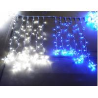 Quality Decorative LED curtain star string lights for Christmas decoration for sale
