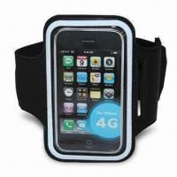 Quality Sports Armband Case/Holder for iPod/iPhone 4/4S, Lightweight, Various Colors are Available for sale