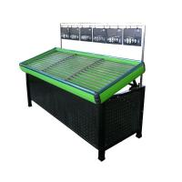 Quality Professional Four Strong Wheels Fruit And Vegetable Rack For Supermarkets for sale