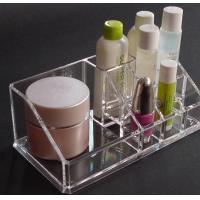 Quality clear Cosmetic Box Acrylic Organizer With Beautiful Shape for sale