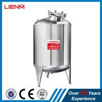 China Stainless steel SS304, SS316 Storage tank  for shampoo, perfume, liquid soap, detergent, oil, shower gel, lotion cream on sale