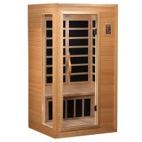 China Mini Home Sauna Room One Person With Double Control Panel CE Certificate on sale