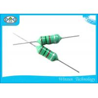 China Green LGA Color Code Fixed Inductor Small Size 0204 - 0510 With Epoxy Resin Coating on sale