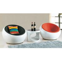China ABS ball chair ABS meeting chair fiber glass coffee meeting table on sale