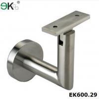 China Stainless steel staircare wall handrail square tube handrail support-EK600.29 on sale