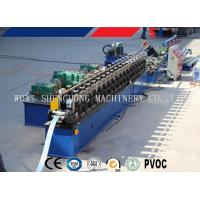 Quality Mm Thickness C / Z Purlin Steel Roll Form Machine Efficiency Roll Forming Machinery for sale