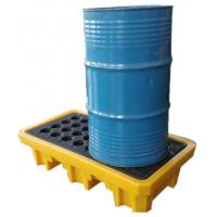 China Iso Oil Drum Spill Containment Pallet Deck IBC Spill Pallet 43-200L Sump on sale