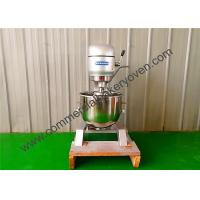 Quality 80L Electric Commercial Planetary Mixer 3 Speed Motor Size 750x900x1410mm for sale