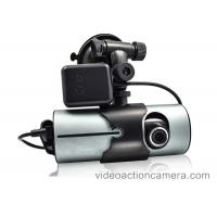 Quality 720P Rear View Mirror Dash Cam , 2 Lens Car Camera Recorder Front And Back for sale