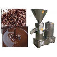 Quality Manual Cocoa Bean Grinding Machine / Cacao Nib Grinder Colloid Mill Factory Price for sale