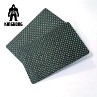 Quality Carbon Fibre Gift Pvc Identity Card Silkscreen Printed Logo Customised for sale