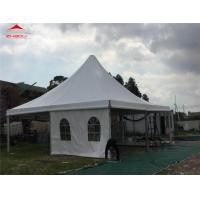 Buy cheap Transparent PVC Windows Pagoda Party Tent / Garden Wedding Tent from wholesalers