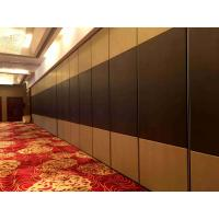 Buy Vinyl Finish Movable Partition Wall Heavy Duty  Polyester Powder Coating at wholesale prices