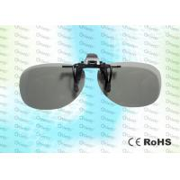 Quality REALD Anti-scratch, clip on, Circular polarized 3D film glasses for sale