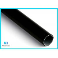 Quality Black Eco-Friendly  Anti-static Lean Pipe Plastic Coated Steel Pipe For Workshop for sale
